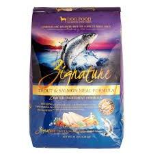 Zignature Kibble - Trout & Salmon 13.5lbs