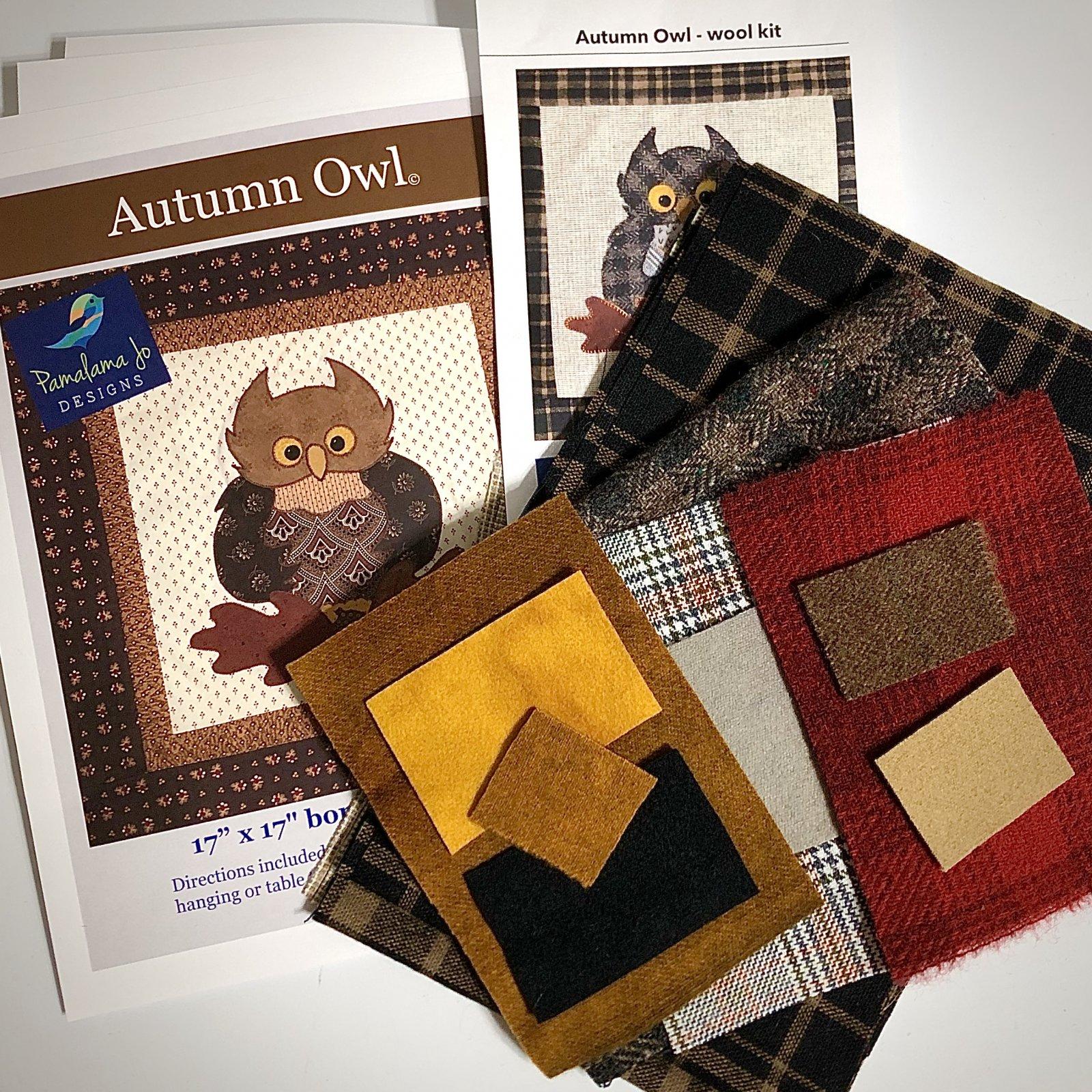 Autumn Owl Wool Kit