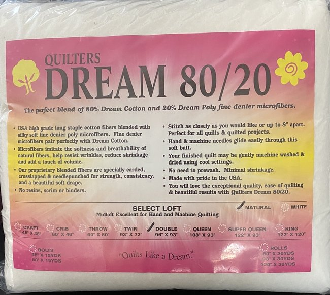 Dream 80/20 Natural  Twin