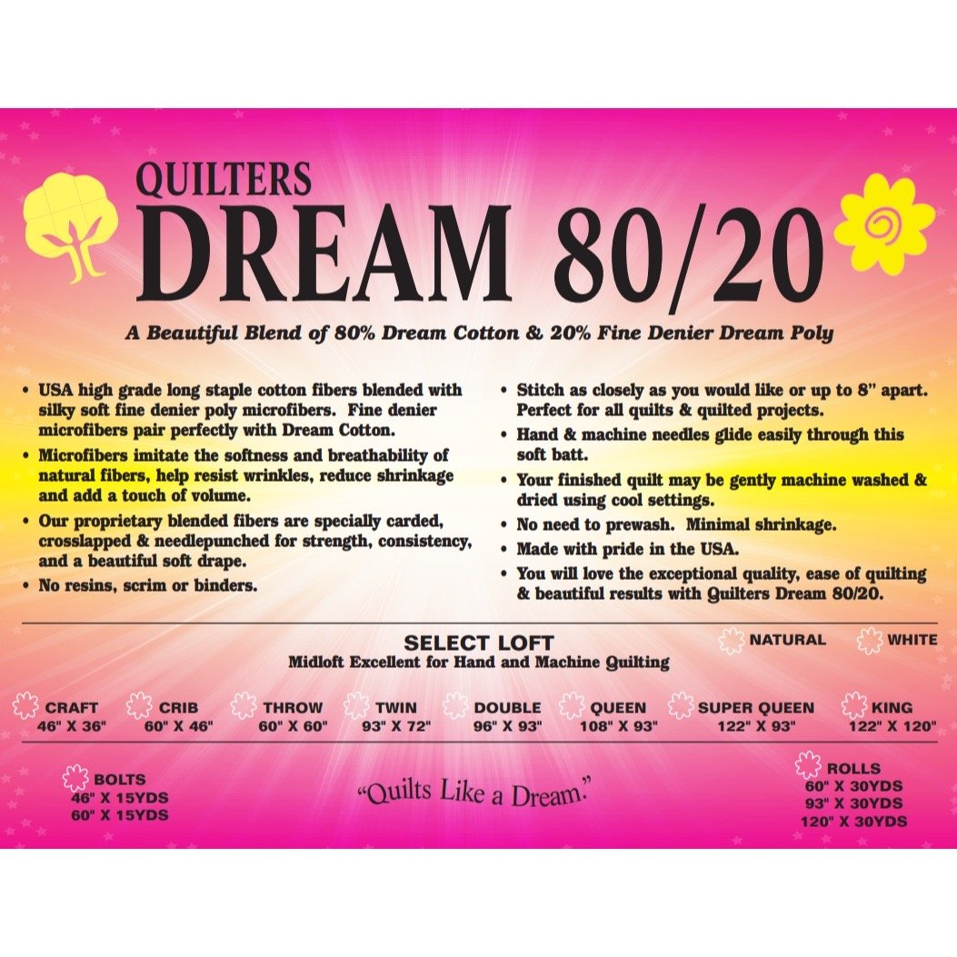 Dream 80/20 Natural King