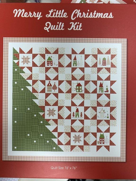 Merry Little Christmas Quilt KIt