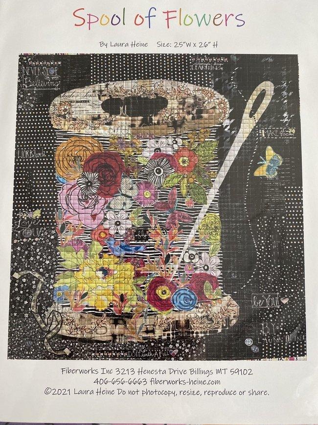 Fabric Kit - Laura Heine - Spool of Flowers