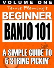 Terrie Fleming Beginner Banjo 101 Vol. 1