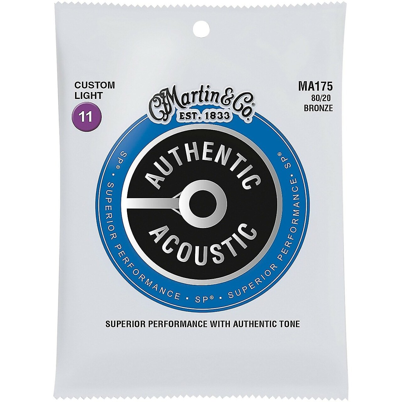 Martin Acoustic Custom Light 80/20