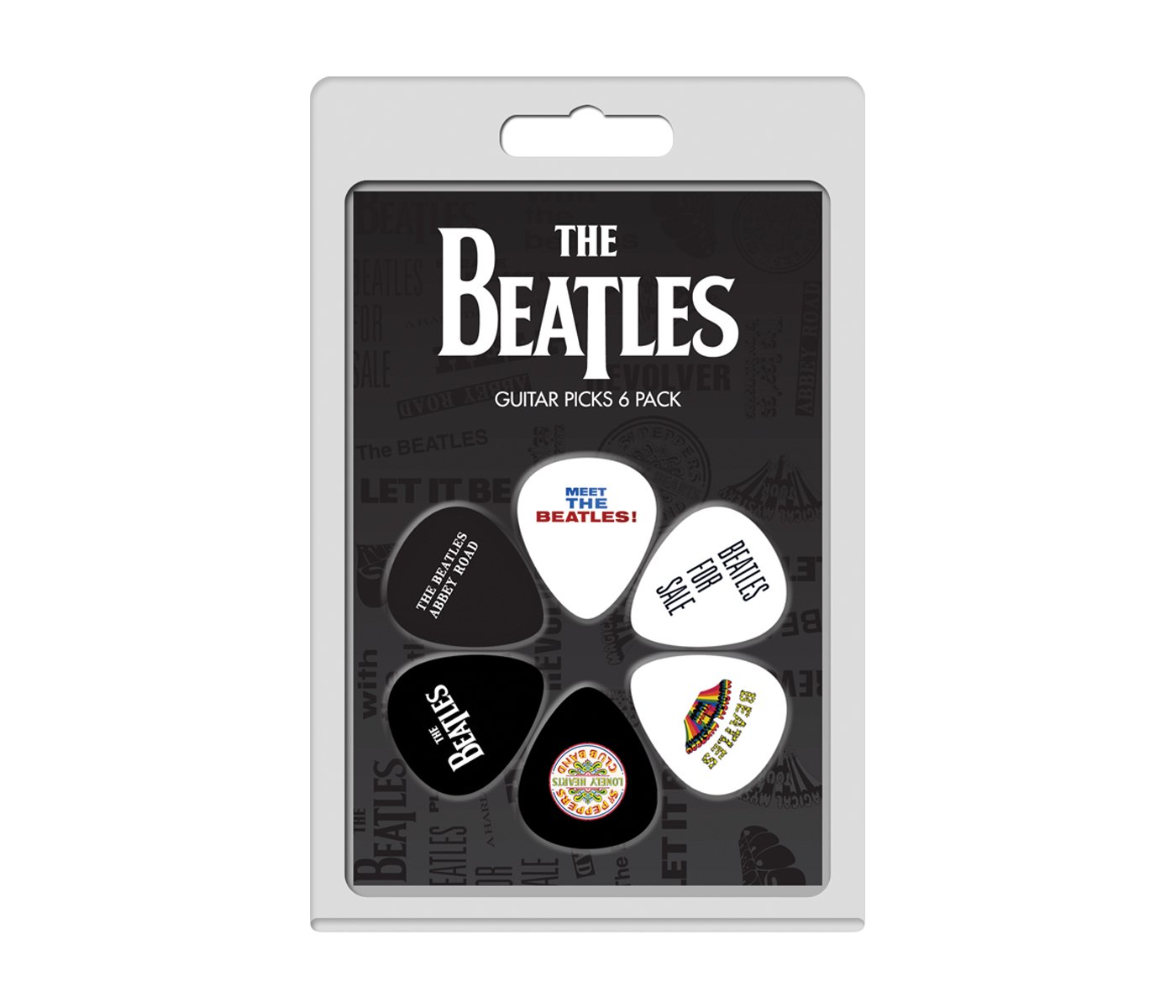 Perri's 6 Pick Pack The Beatles