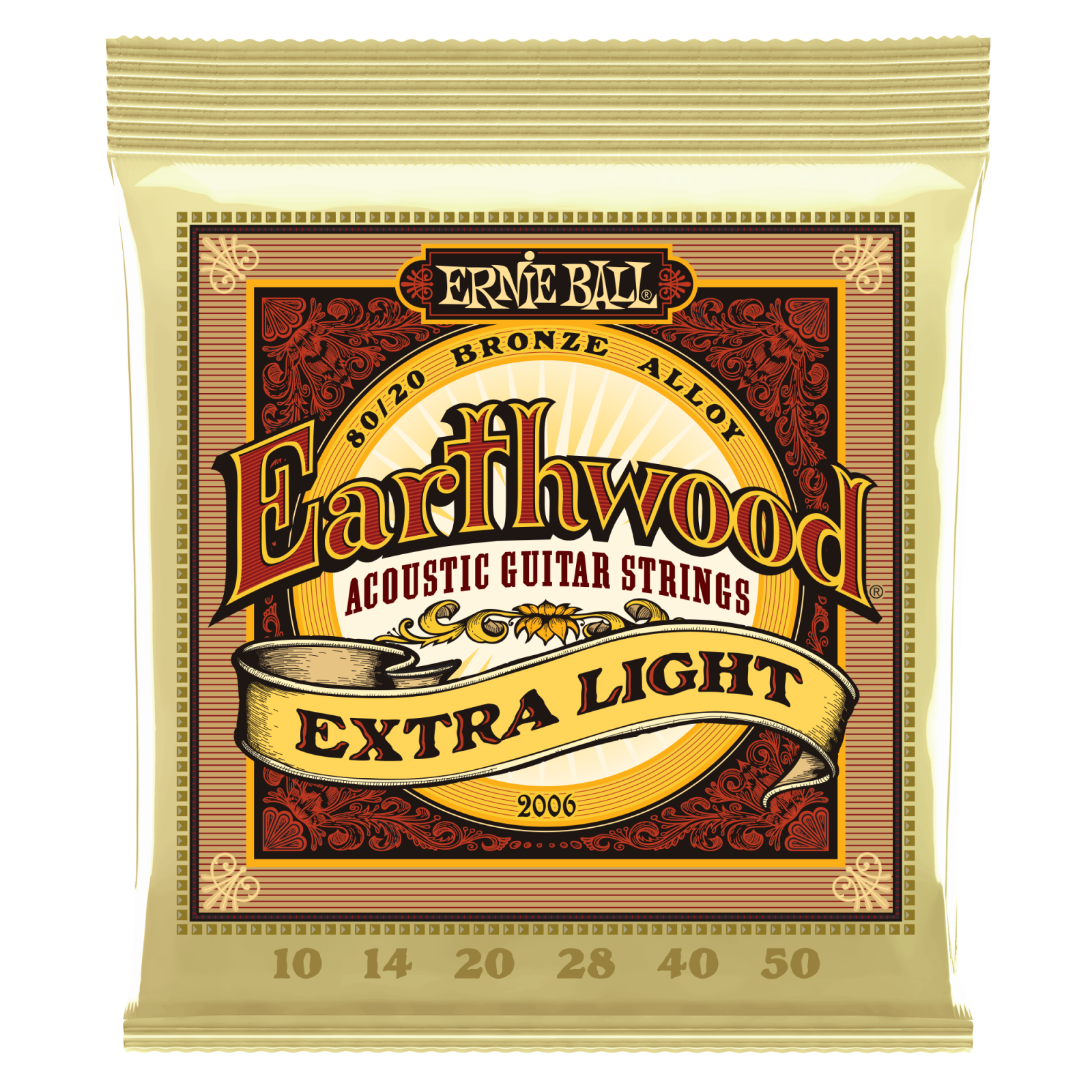 Ernie Ball Earthwood 80/20 Bronze XLt