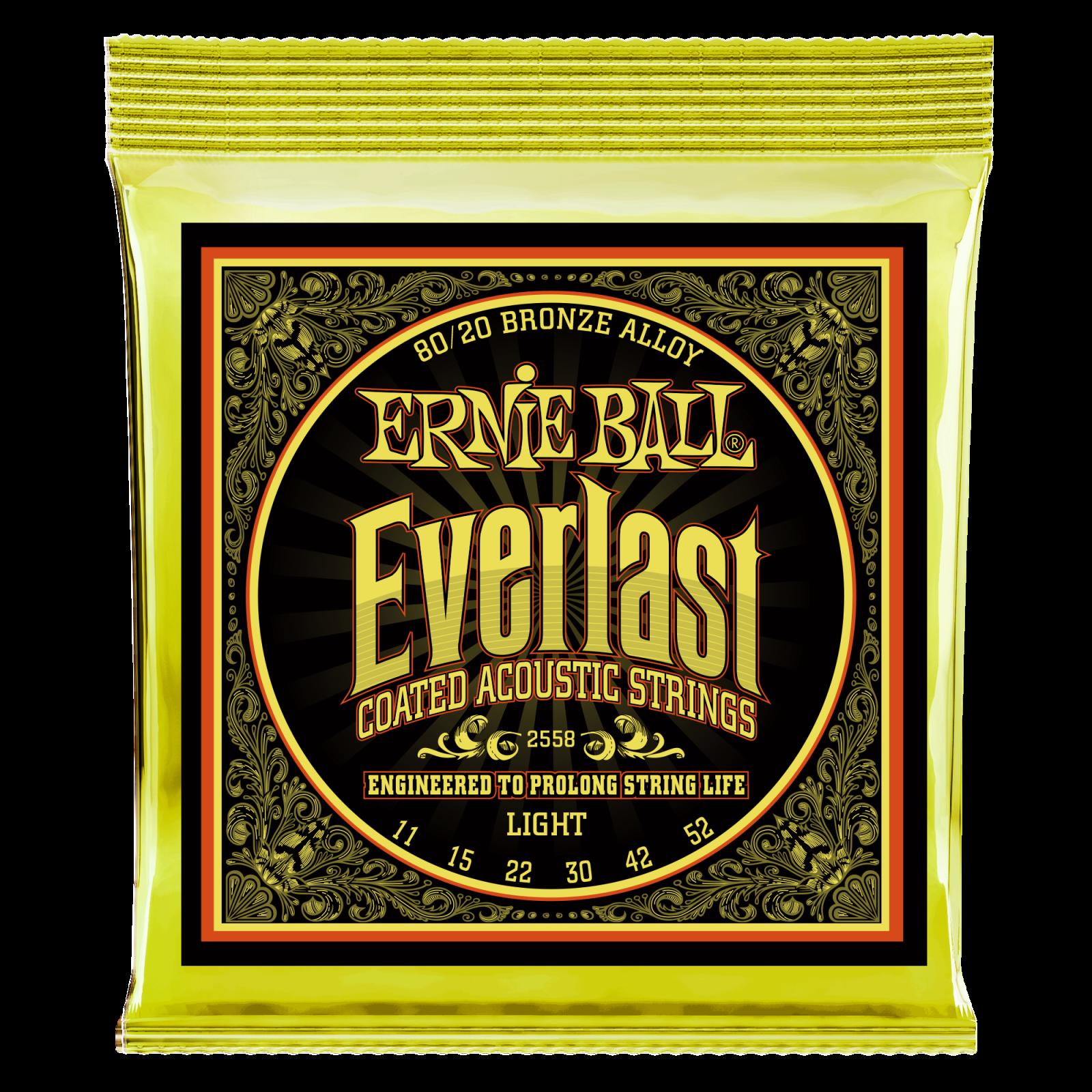 Ernie Ball Everlast Acoustic Light