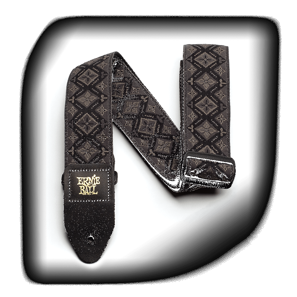Ernie Ball Jacquard Strap Regal Black