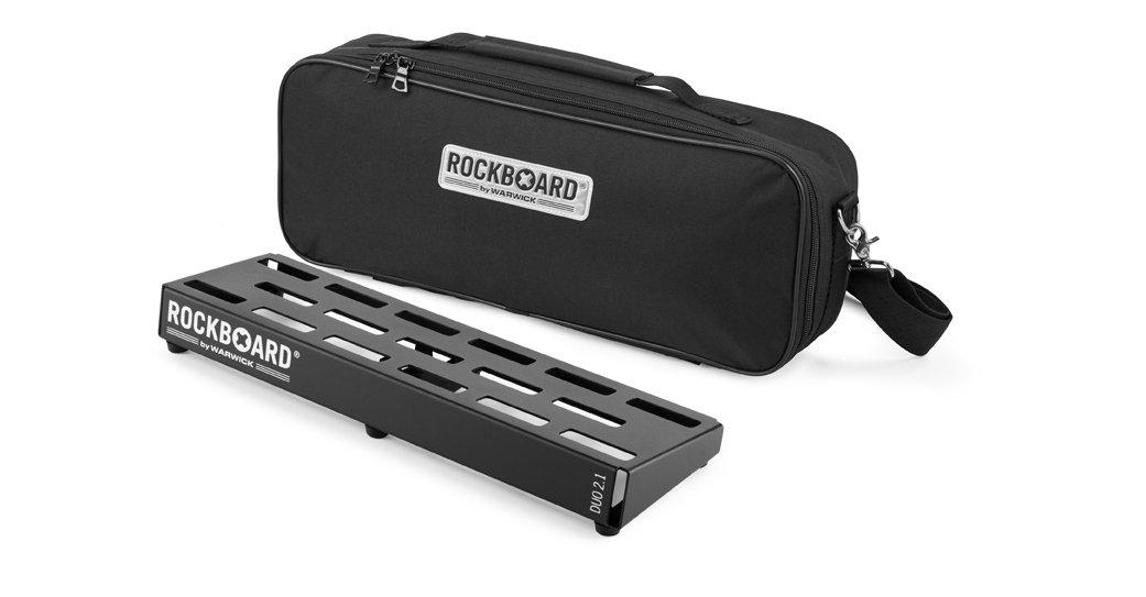 Rockboard Duo 2.1 pedalboard w/bag