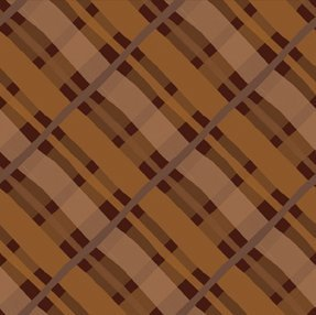 F-CB-ITB-PRO-18 In The Beginning-Promos-18-A Walk in the Woods Plaid Chocolate