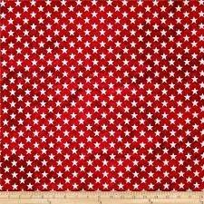 F-CB-FBQ-CLA-02 Fabri-Quilt-Classique-02-Stars Red/White