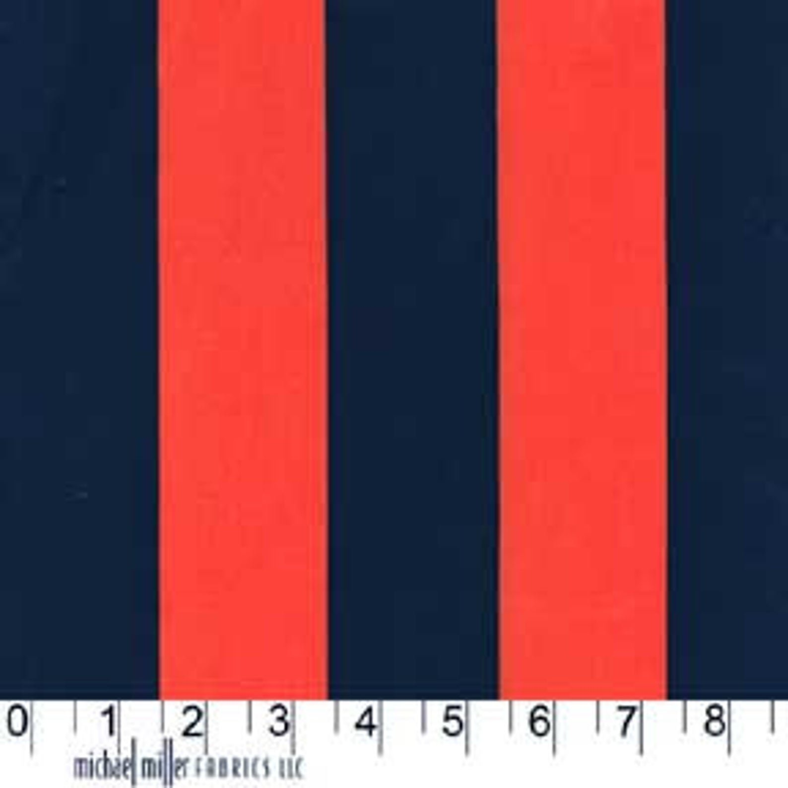 F-CB-MIM-PRO-43 Michael Miller-Promos-43-Two by Two Stripes - Red/Blue