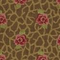F-CB-WIN-WOC-15 Windham-WOC- Women of Courage-15-1 - Dk Brown w/ Red Roses