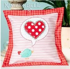 Love Notes - A Little Birdie told me Pillow Kit