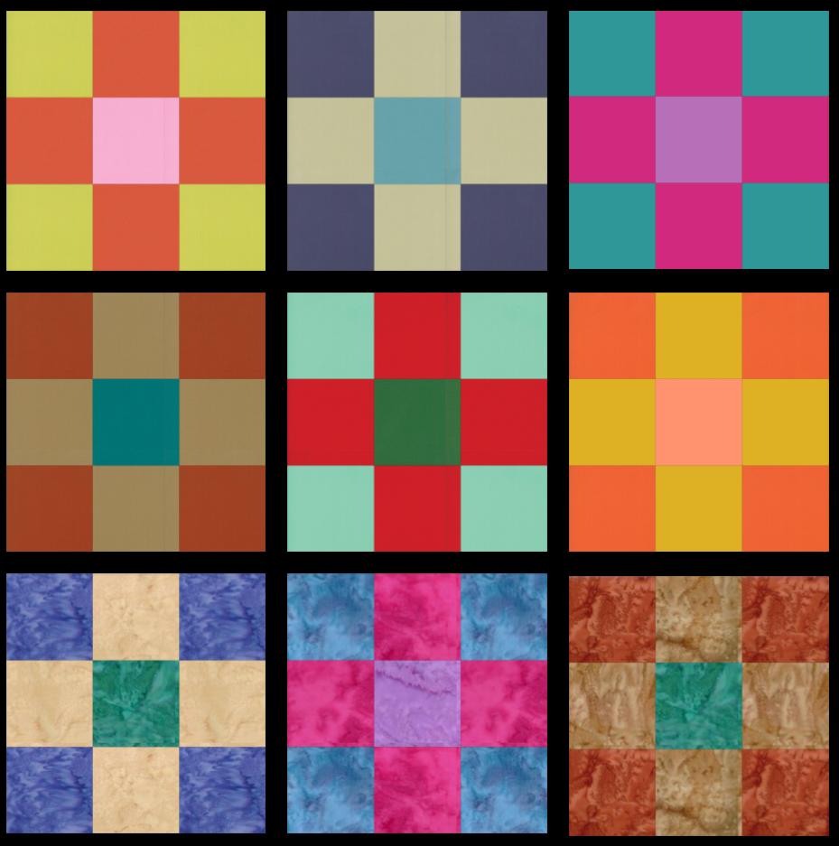 SS2021 Block 14 Color Array