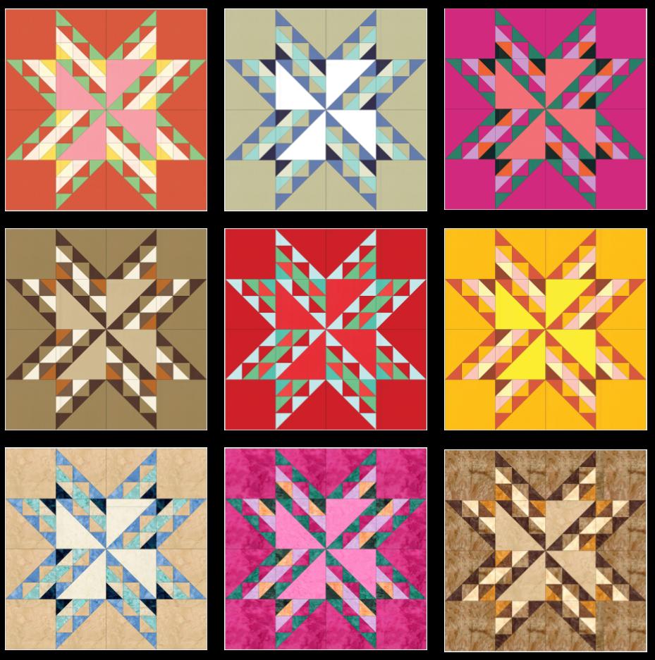 SS2021 Block 15 Color Array