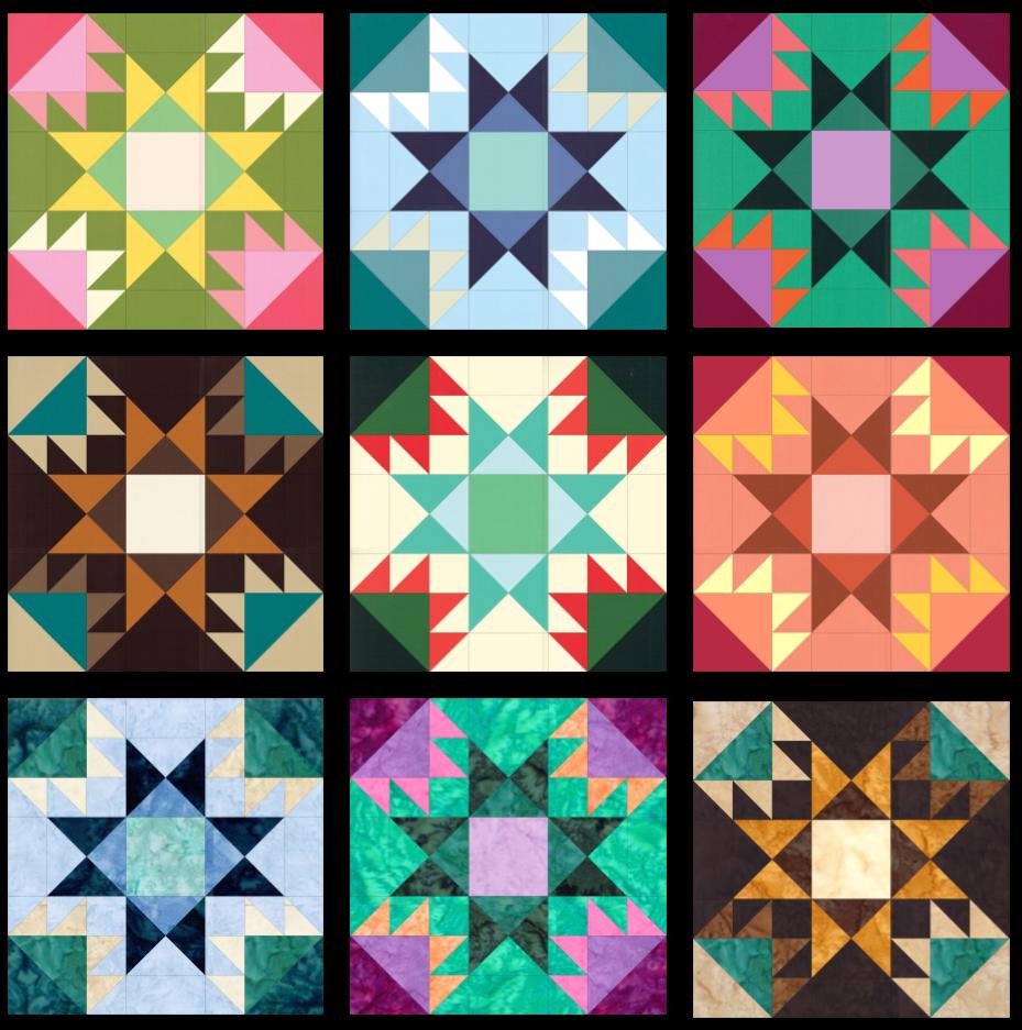 SS2021 Block 17 Color Array