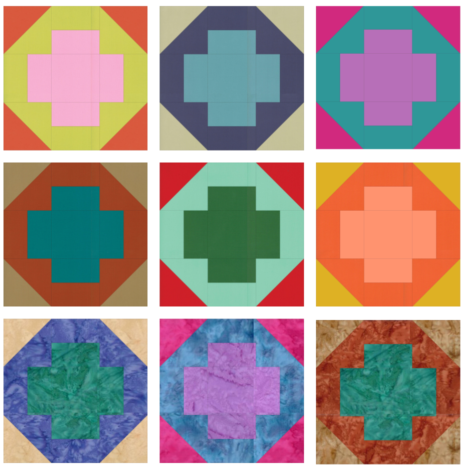 SS2021 Block 9 Color Array