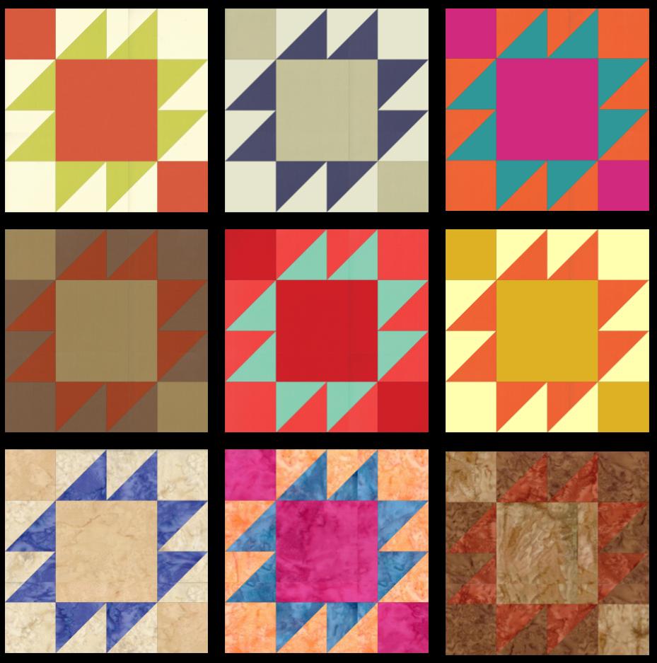 SS2021 Block 10 Color Array