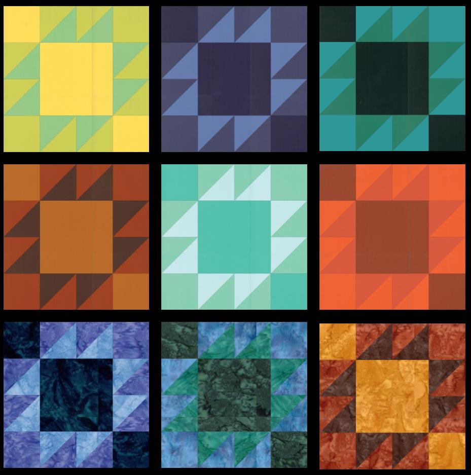 SS2021 Block 11 Colorways Array