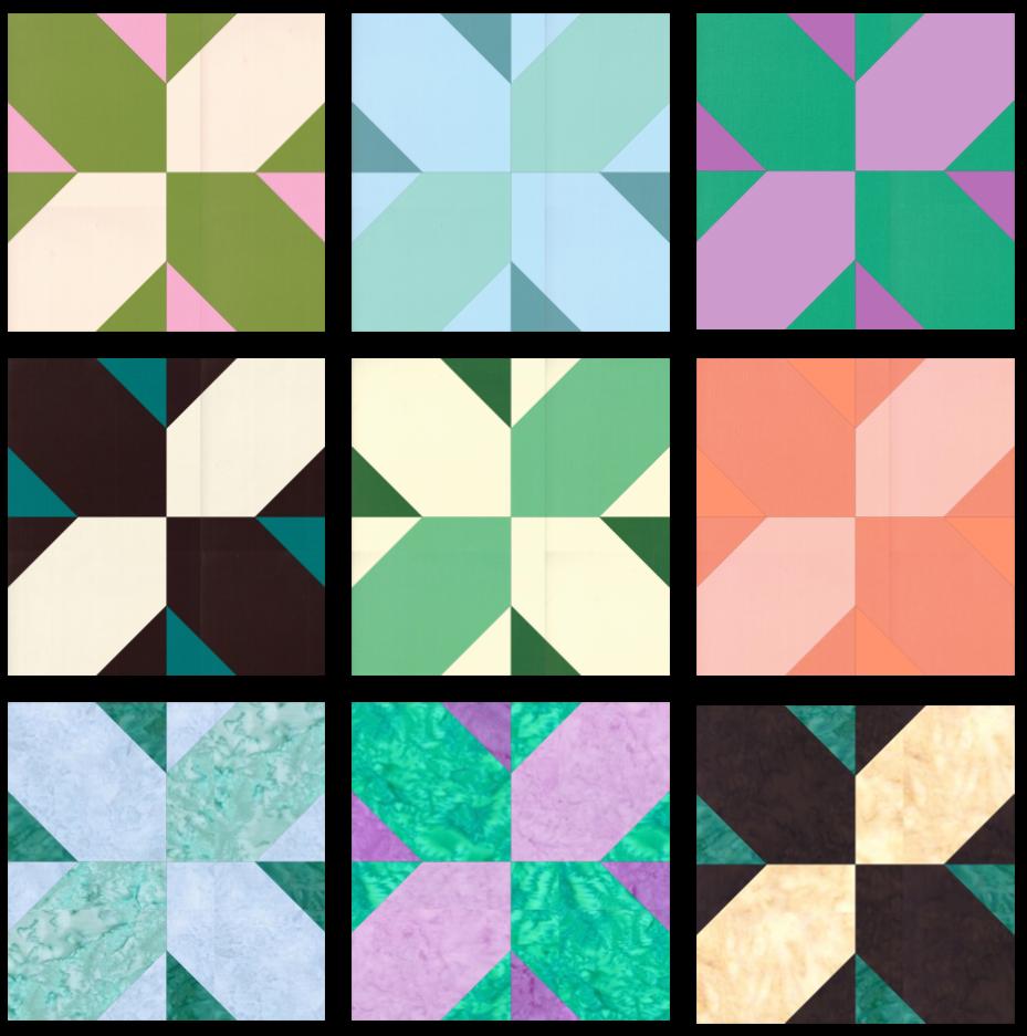 SS2021 Block 18 Colorways Array