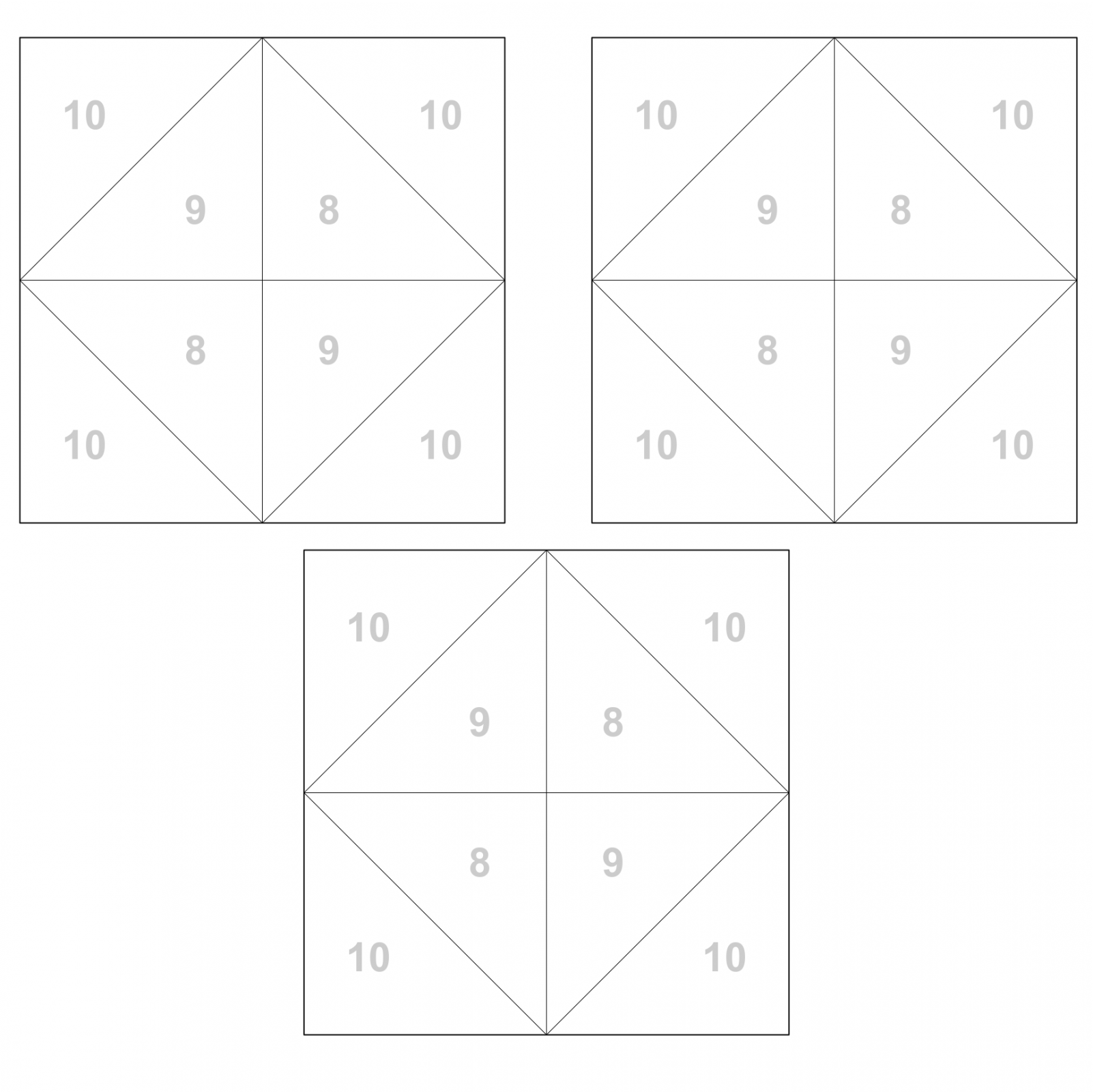 Block 12 color by number