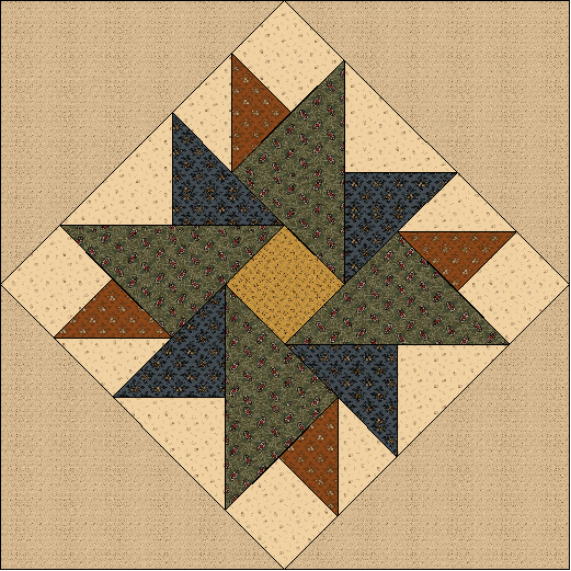 SS19-04-C Double Aster Star Pattern (Digital Download)