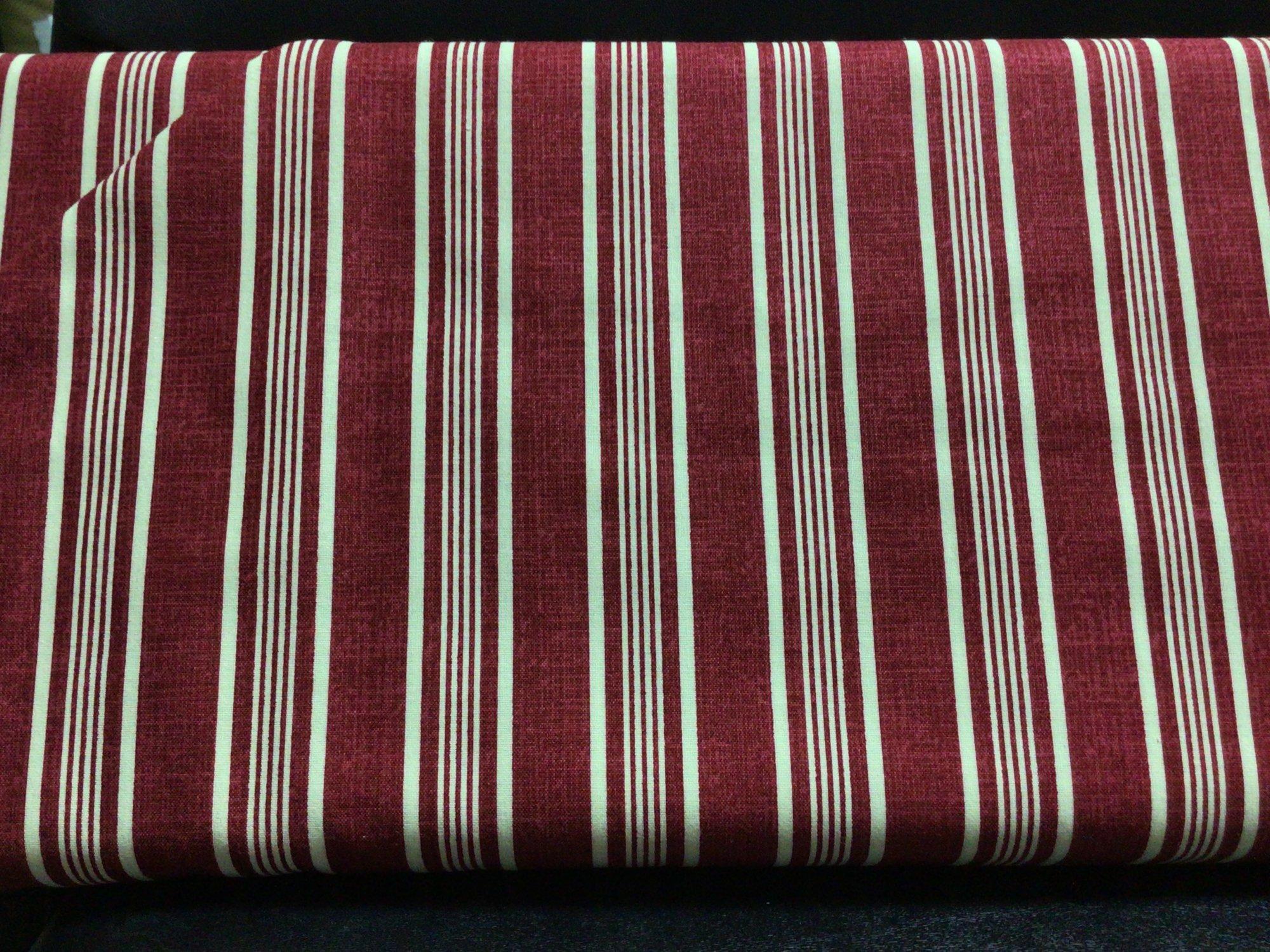 F-CB-Clothworks -Promo-Stripes - Red/Cream