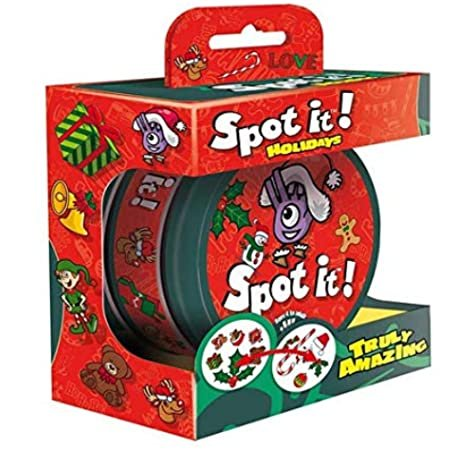 Spot It Holidays Game