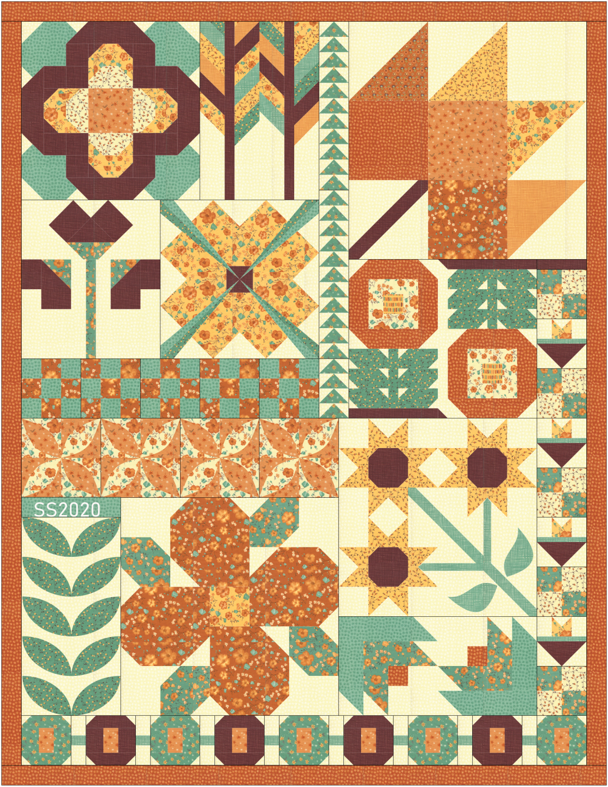 SS2020 Fall Quilt - Arrayed In Glory