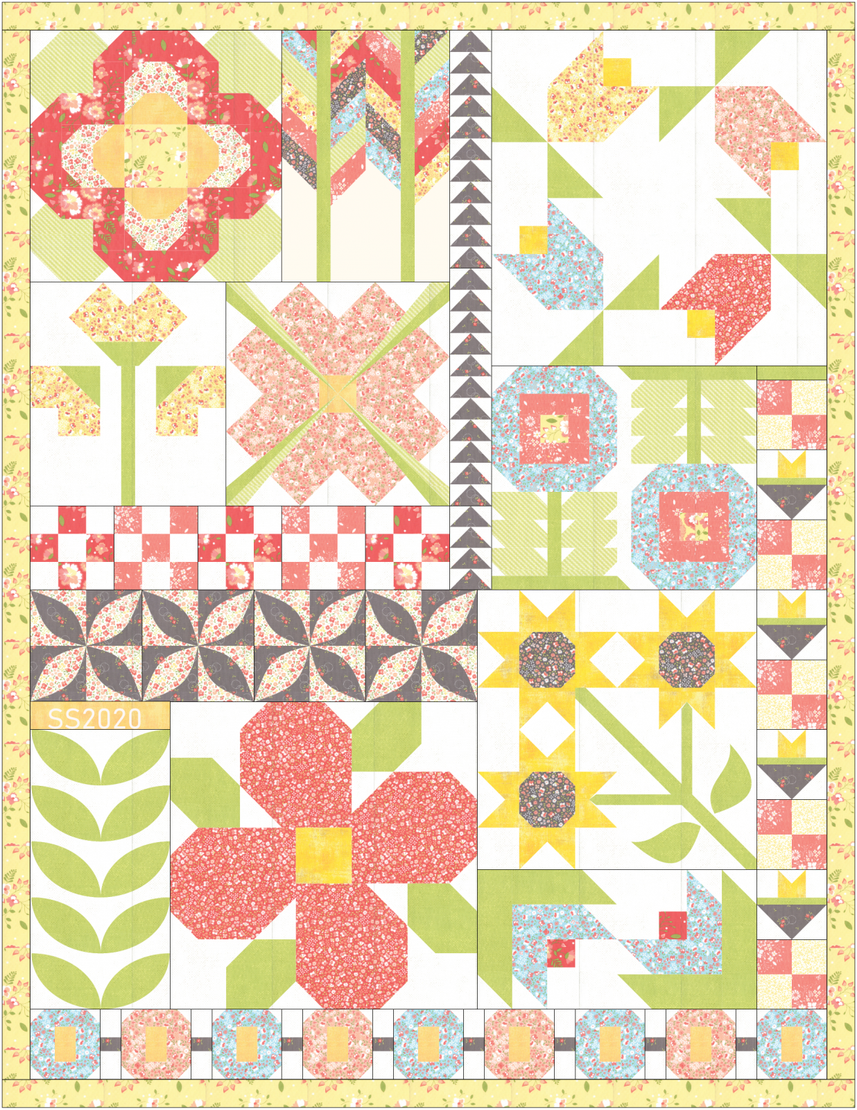 SS2020 Spring Quilt - Arrayed In Glory