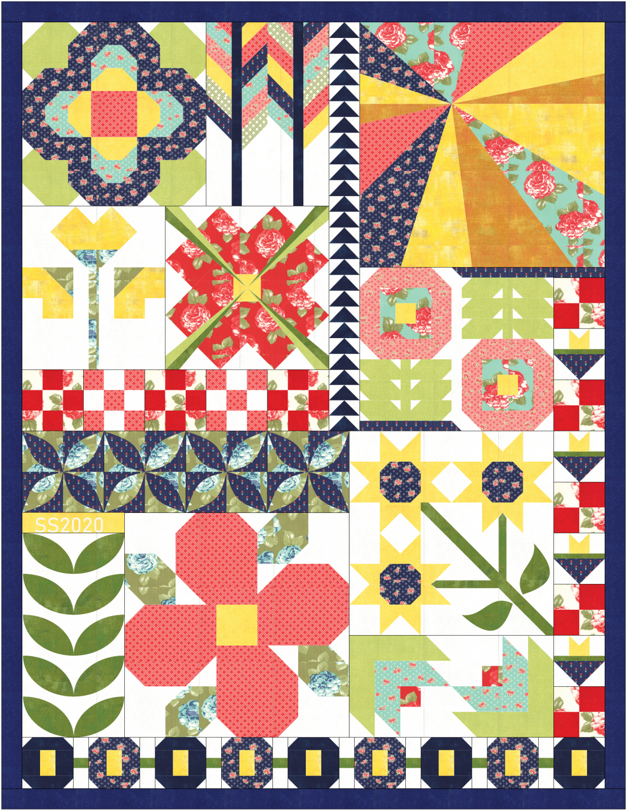 SS2020 Summer Quilt - Arrayed in Glory