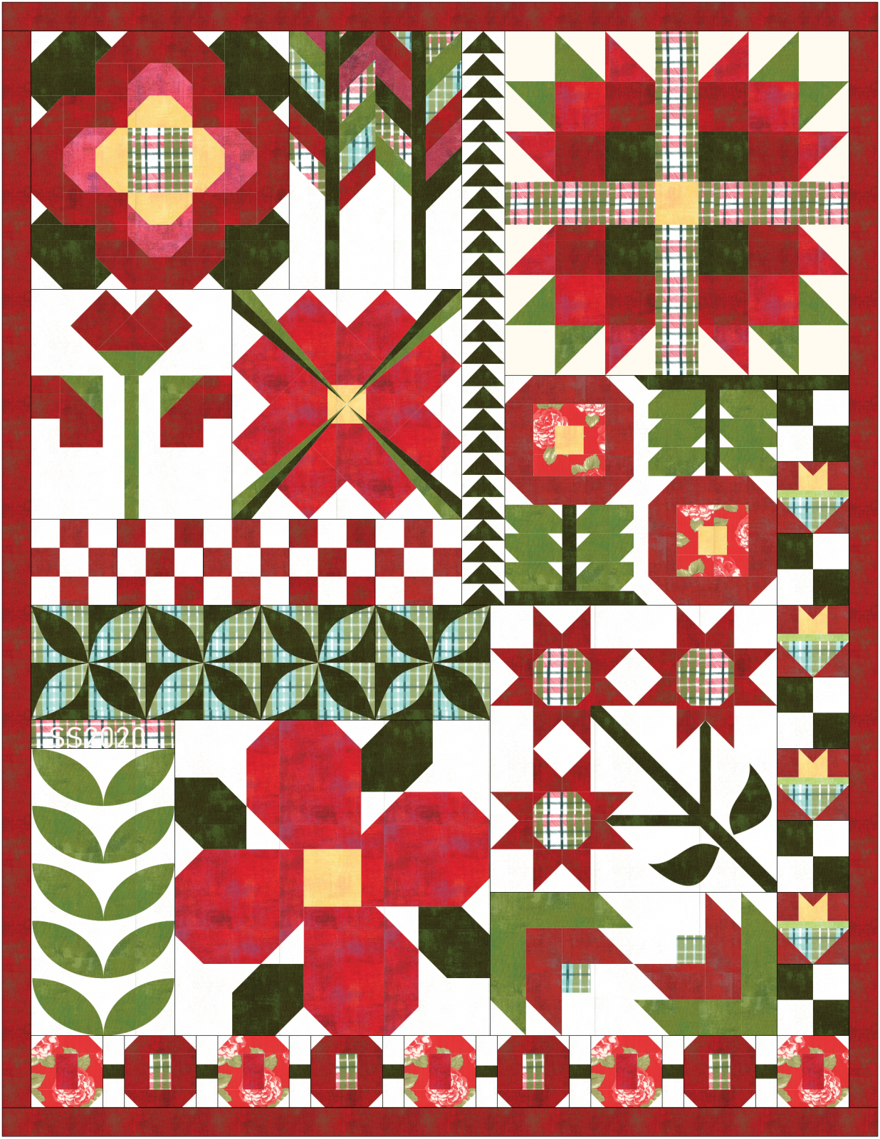 SS2020 Winter Quilt - Arrayed in Glory