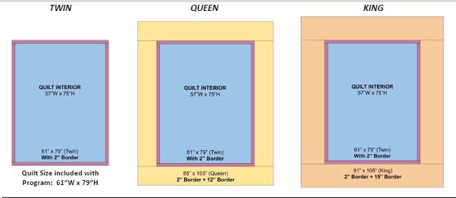 SS2020 Quilt Sizes
