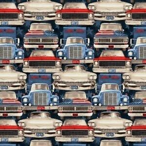 F-CB-STE-ART-02 Studio E-ART - All American Road Trip-02-77- Cars Red/Wt/Blue