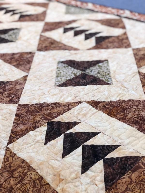 Island Batiks -Tassel Quilt Kit - 48x68