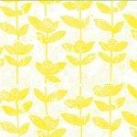 F-CB-HCA-BBK-10  Hoffman California-BBK - Bali Batik-10-Citrine Yellow w/ Flower print