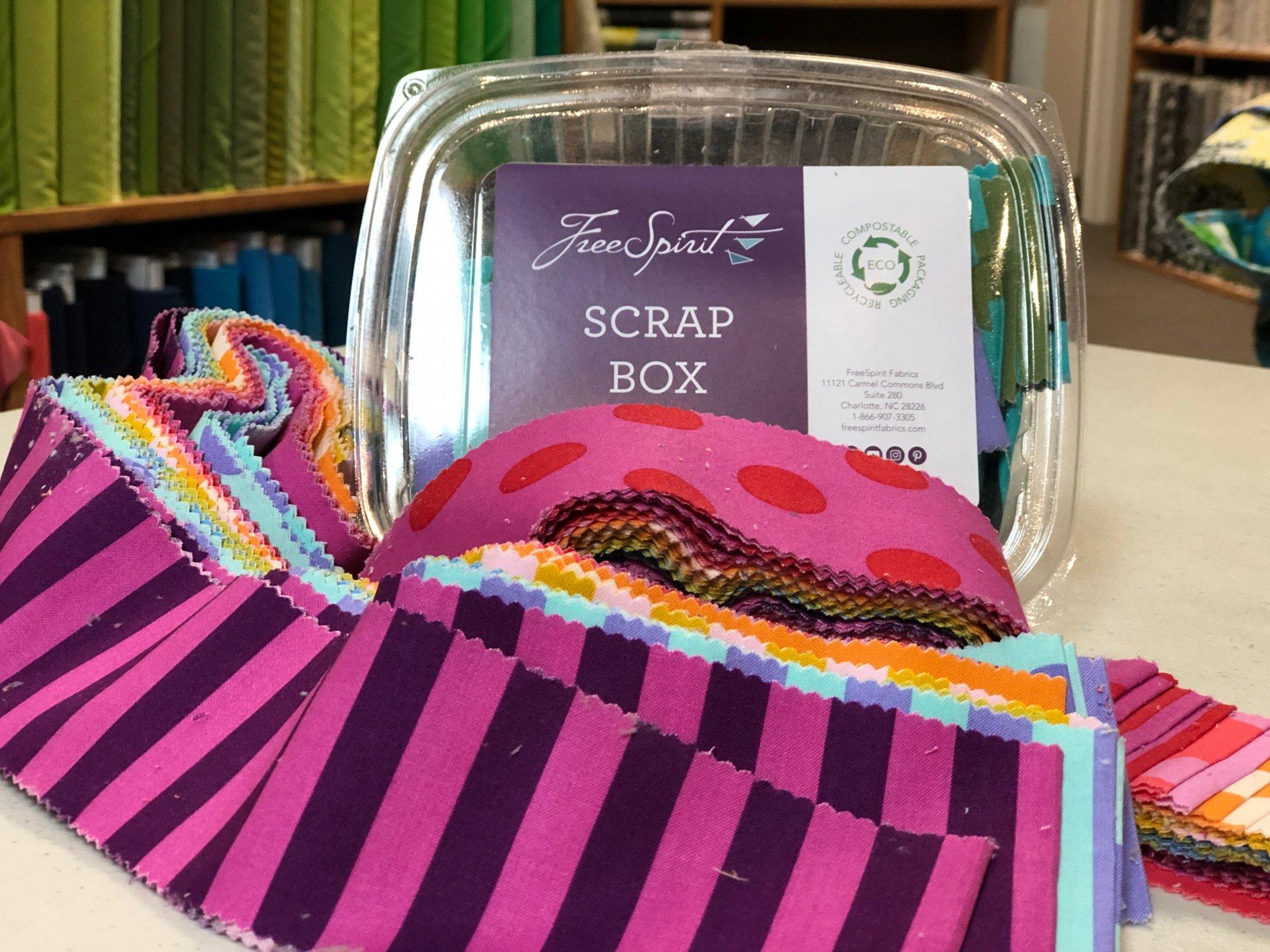 Tula Pink - Scrap Box FBHLFLB.SCRAP