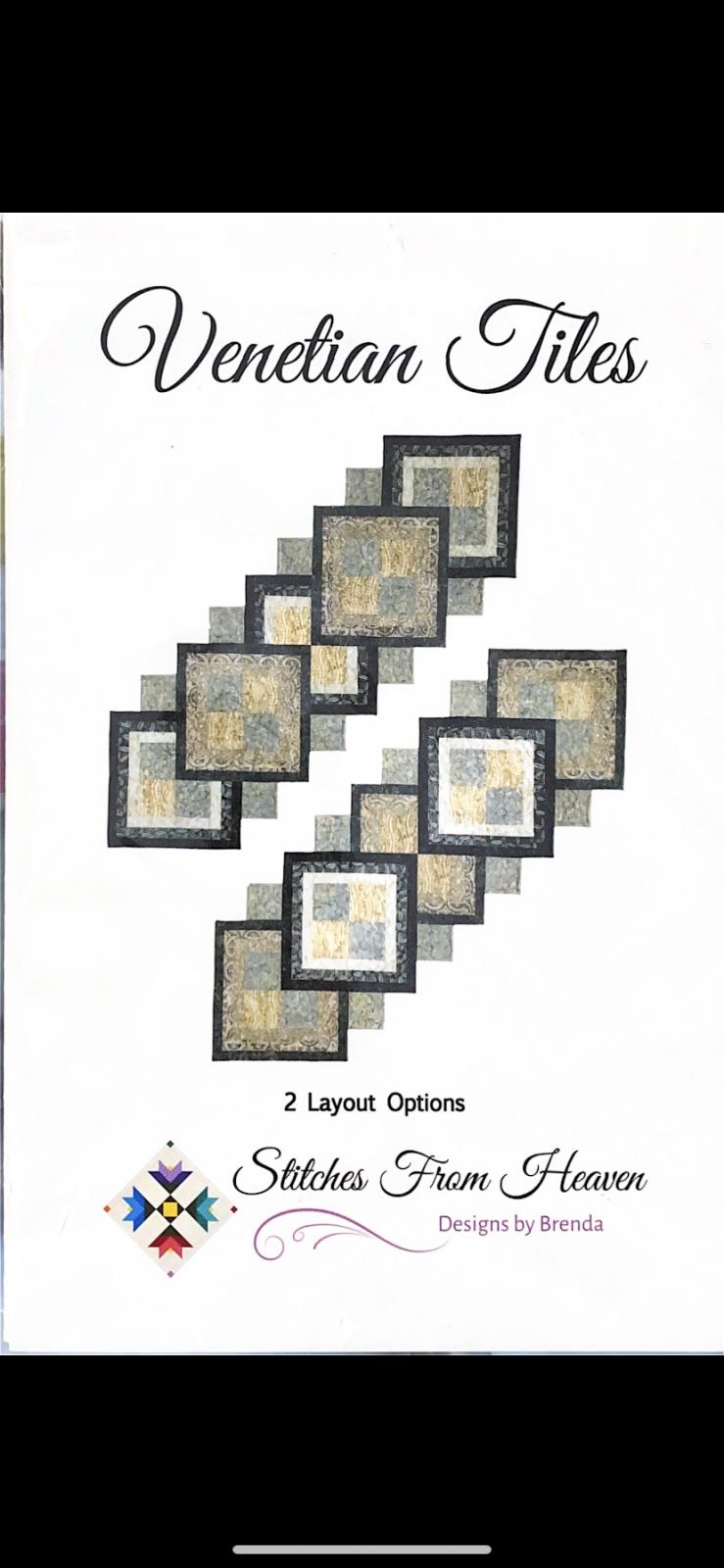 KIT - Venetian Tiles (Table Runner 18 x 58)