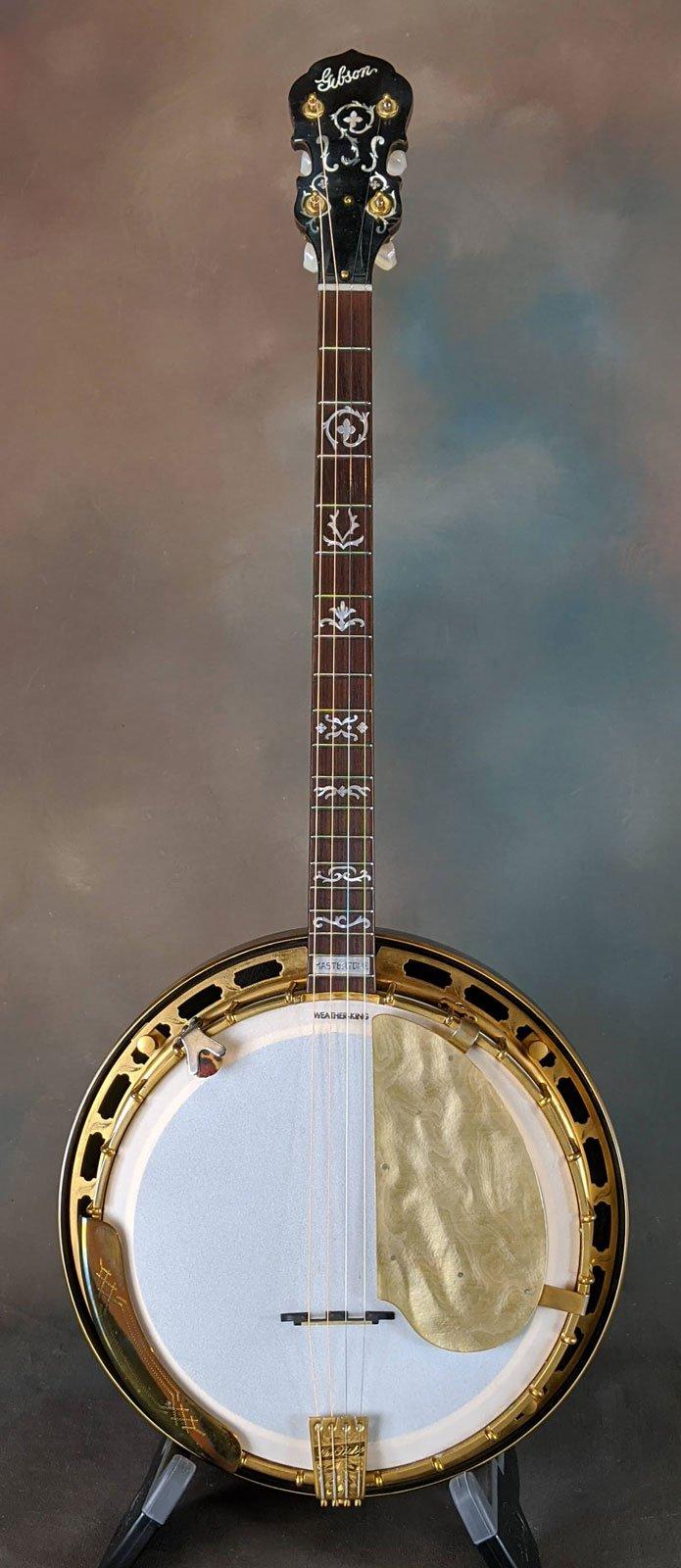 1929 Gibson Style 5 Mastertone TB5 Tenor banjo