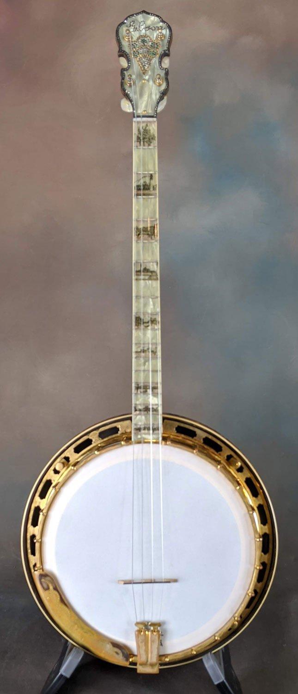 1928 Gibson TB-F Florentine Tenor Banjo