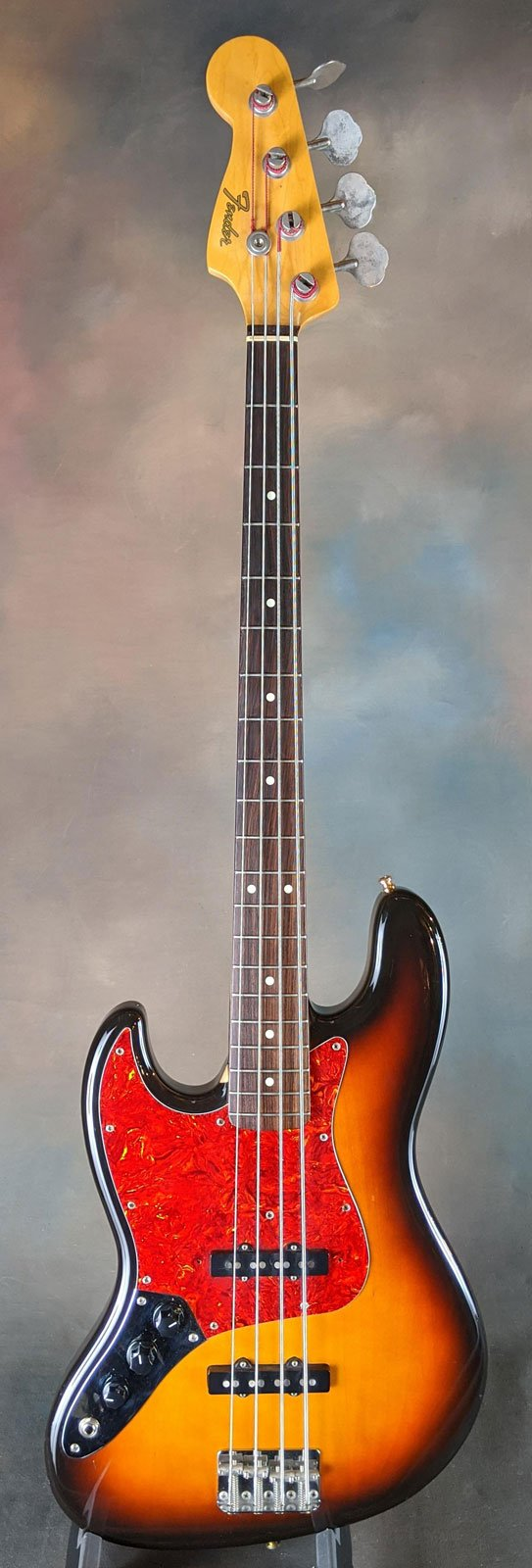 1990 Fender MIJ Left-handed '62 Jazz Bass reissue