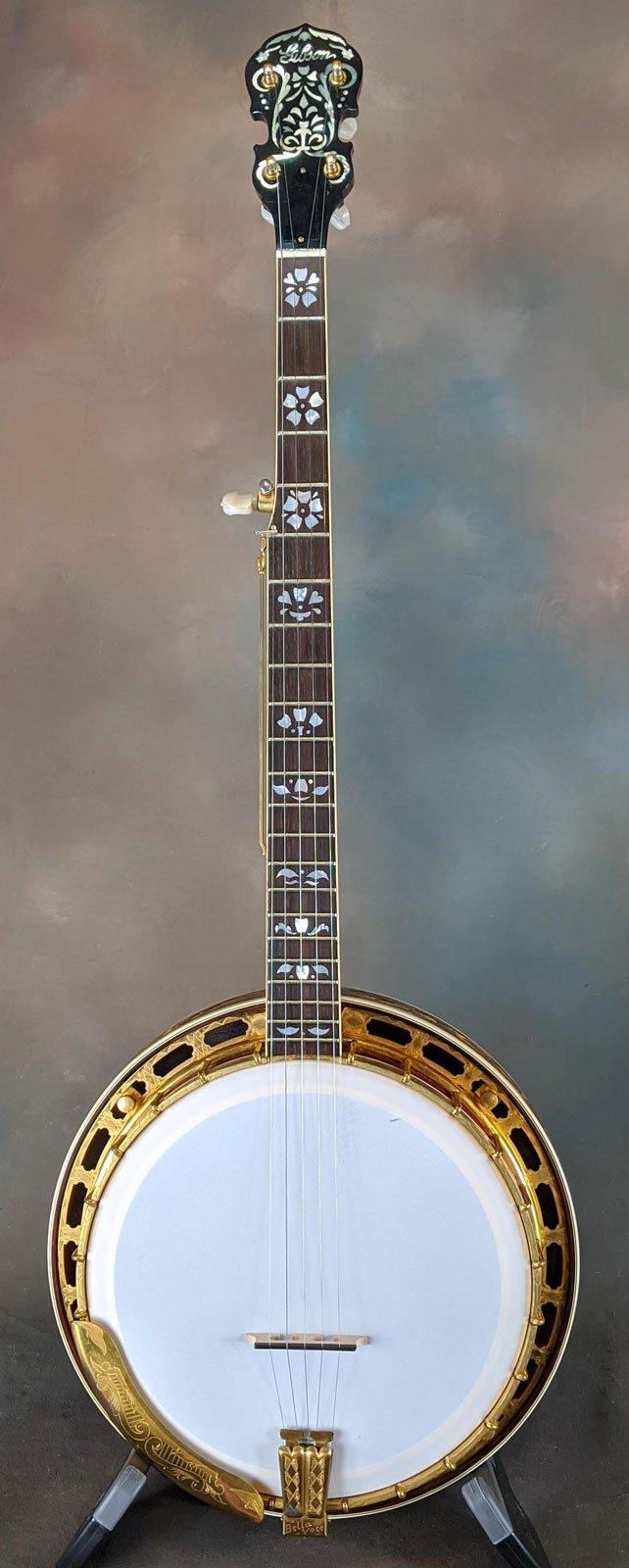 1926 Gibson Bella Voce 5-string Conversion Banjo