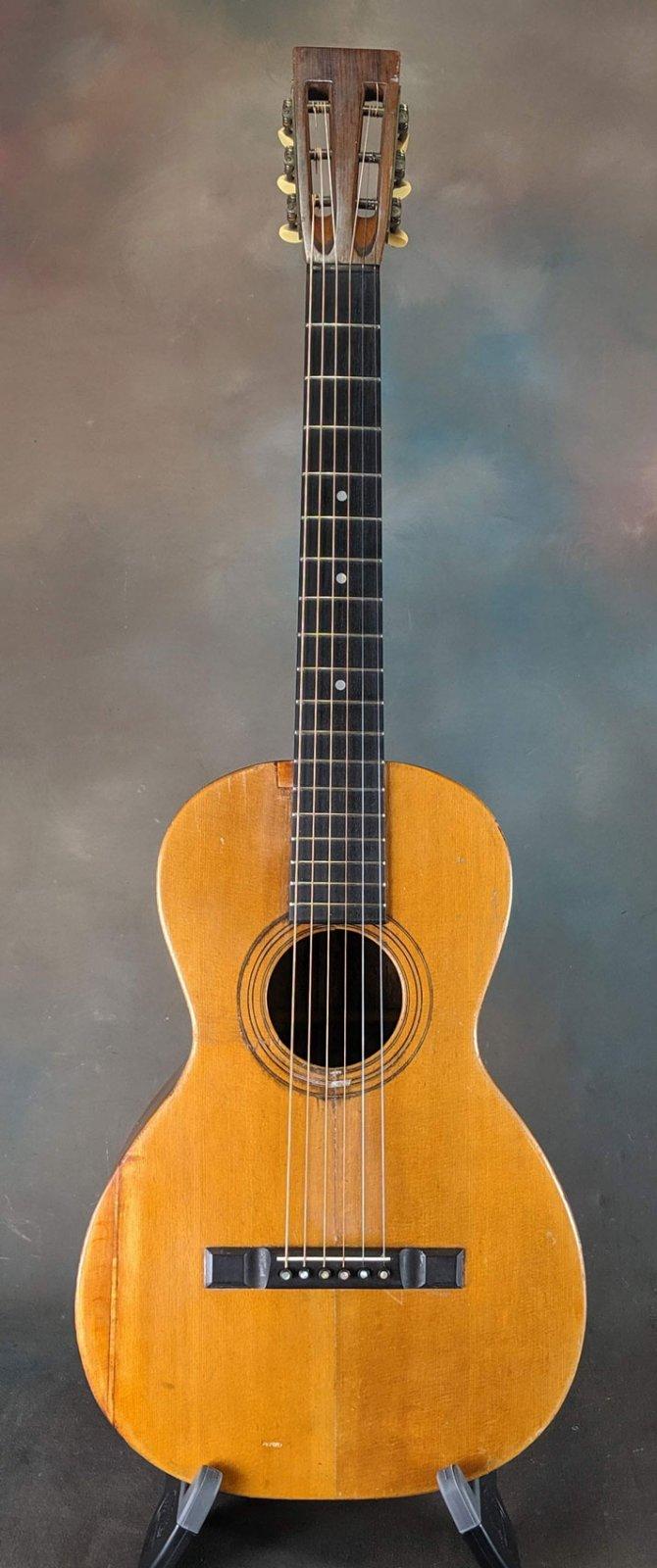 Washburn 1890s New Model 12-fret Parlor Guitar
