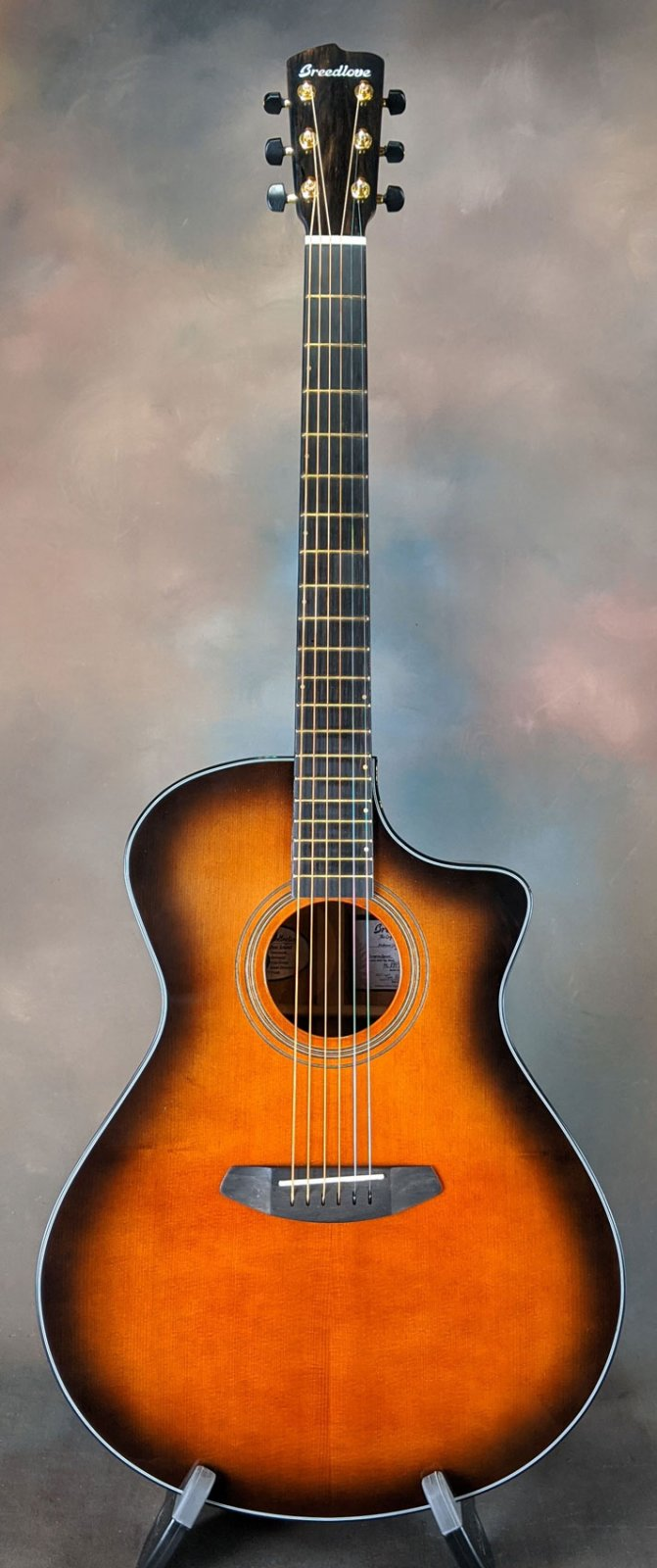 Used Breedlove Organic Collection Performer Concerto Bourbon CE