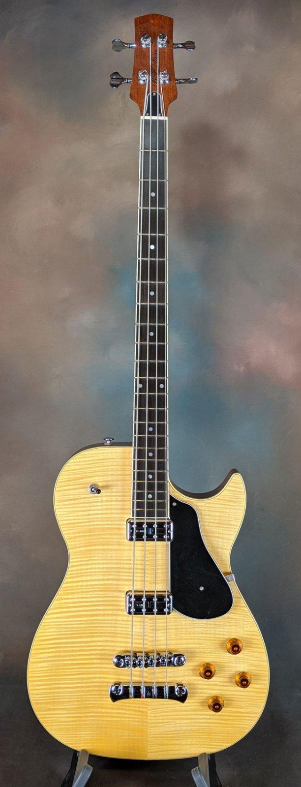 BP Rose BTF150 Semi-Hollowbody Electric Bass