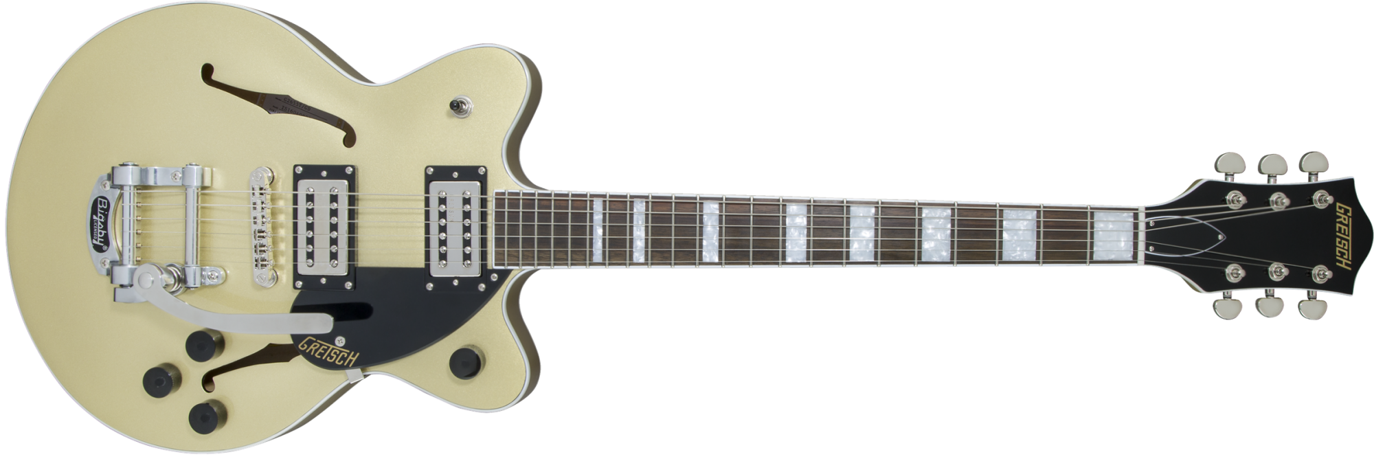 Gretsch G2655T Streamliner Center Block Jr. with Bigsby - Gold Dust