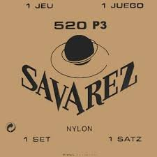 Savarez Traditional Classical Nylon with Plastic Wound Treble Strings