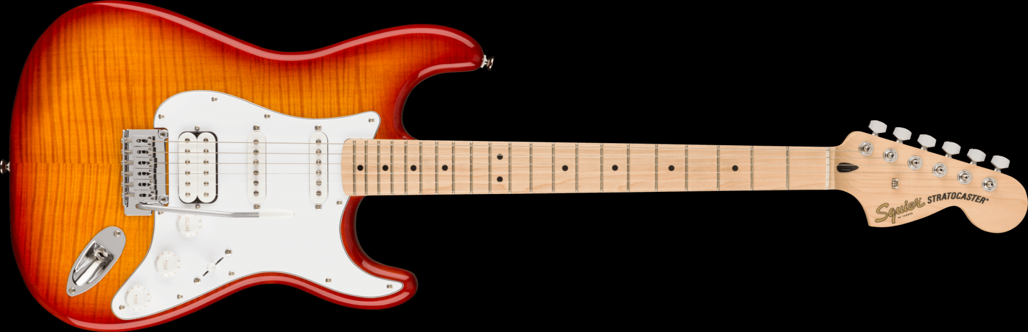 Squier Affinity Stratocaster FMT HSS