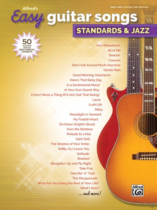 Alfred's Easy Guitar Songs: Standards & Jazz